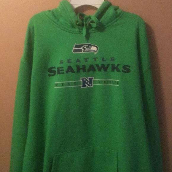 cheaper b9fb7 7dd7e Seattle Seahawks NFL Apparel Men's Hoodie-Sz XL-Ex